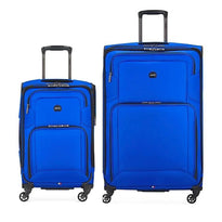 Delsey Optima 2 Piece Spinner Luggage Set (Carry-On & Large)