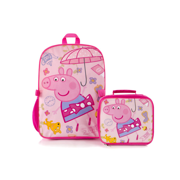 Heys eOne Backpack And Lunch Bag - Peppa Pig