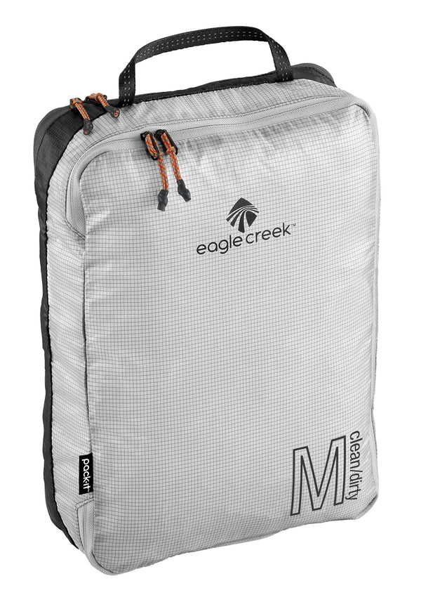 Eagle Creek Pack-It Specter Tech Clean/Dirty Cube M - Black/White