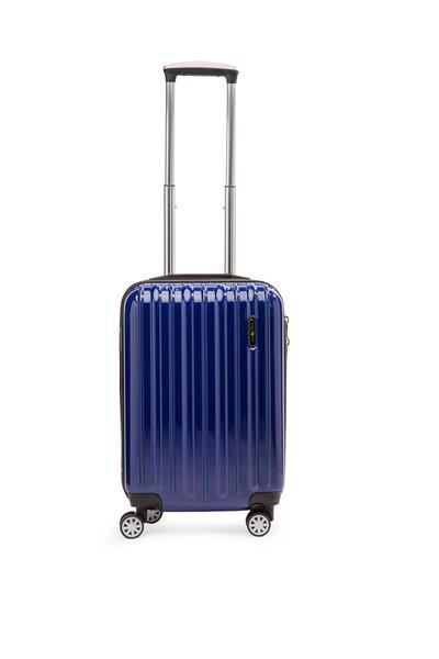 Explorer Classic Collection 2 Piece Expandable Spinner Luggage Set - Carry-On & Medium - Blue
