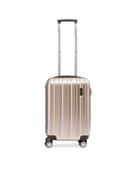 Explorer Classic Collection 2 Piece Expandable Spinner Luggage Set - Carry-On & Large - Champagne