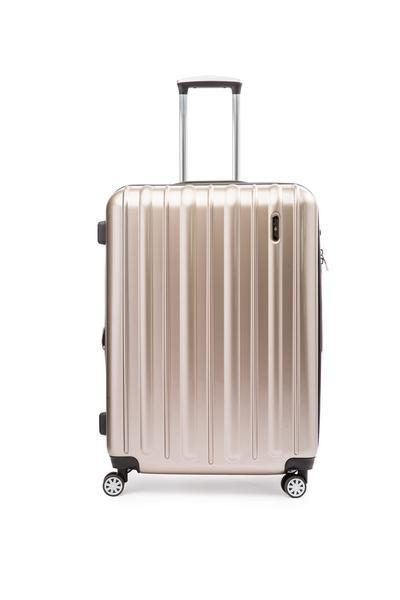 Explorer Classic Collection 2 Piece Expandable Spinner Luggage Set - Medium & Large - Champagne