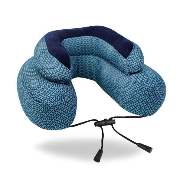 Cabeau Evo Microbead Pillow - Blue Plus