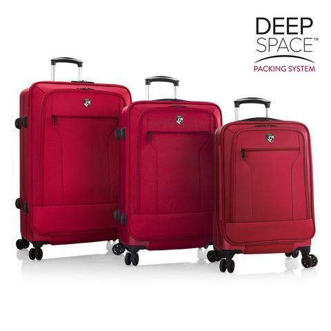 Heys Exos Deep Space 3 Piece Hybrid Luggage Set