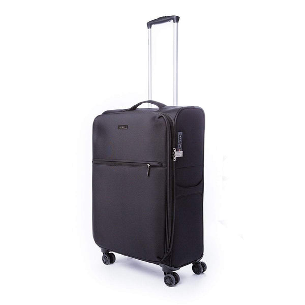 Explorer Lightpro Medium Expandable Upright Spinner Luggage - Black