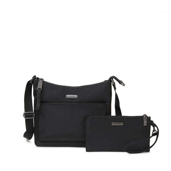 Baggallini Greenwich Crossbody Bag - Black