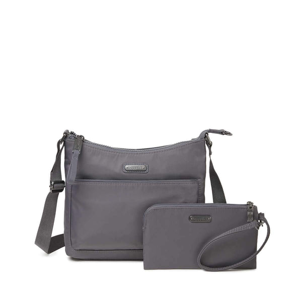 Baggallini Greenwich Crossbody Bag - Smoke