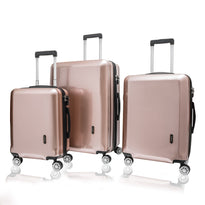 Explorer Edge 3 Piece Expandable Spinner Luggage Set