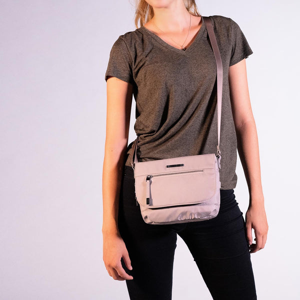 Hedgren Shimmer RFID Crossbody with Flap