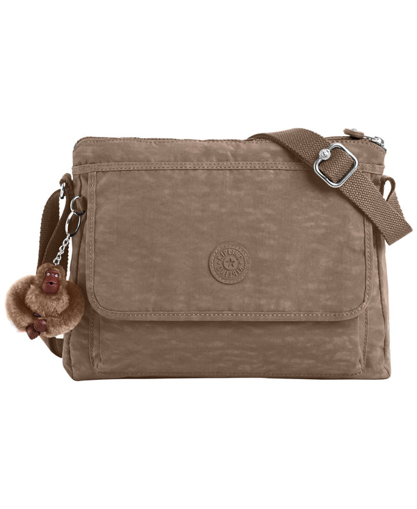 Kipling Aisling Crossbody Bag - Soft Earthy Beige