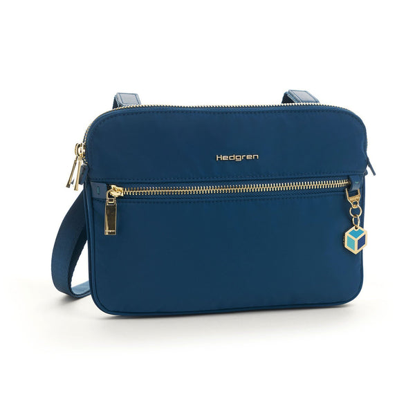 Hedgren Attraction 2-Compartment Crossbody Bag - Nautical Blue