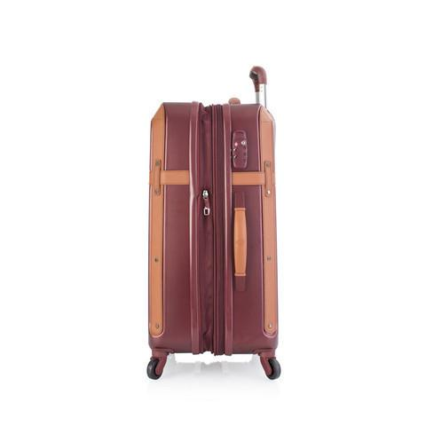 Heys Luggage Heritage Collection 21 inch Carry On Hardsided Spinner Upright Luggage