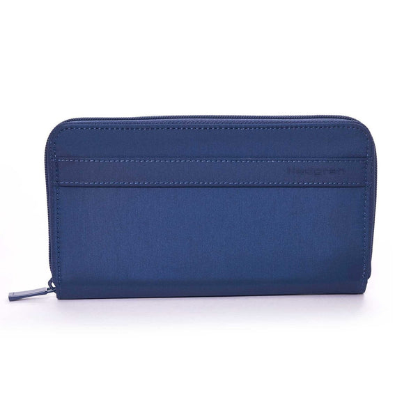 Hedgren Won Travel Wallet with RFID Pocket - Dress Blue