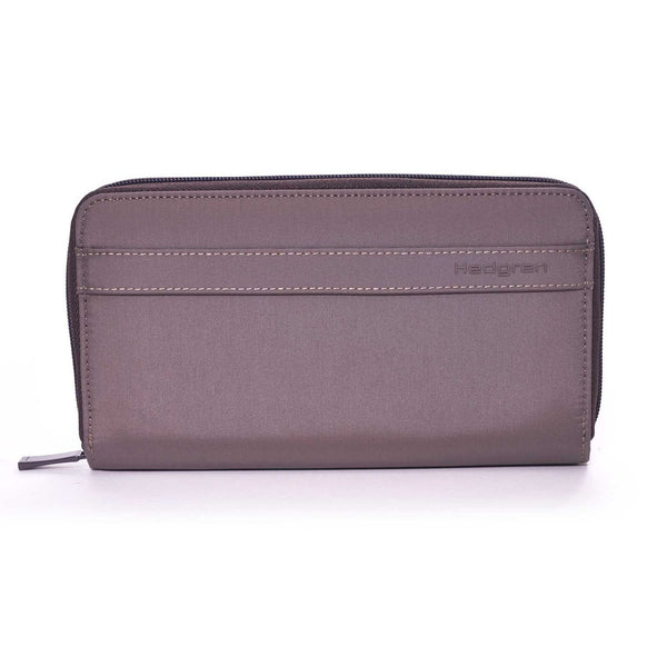 Hedgren Won Travel Wallet with RFID Pocket - Sepia/Brown