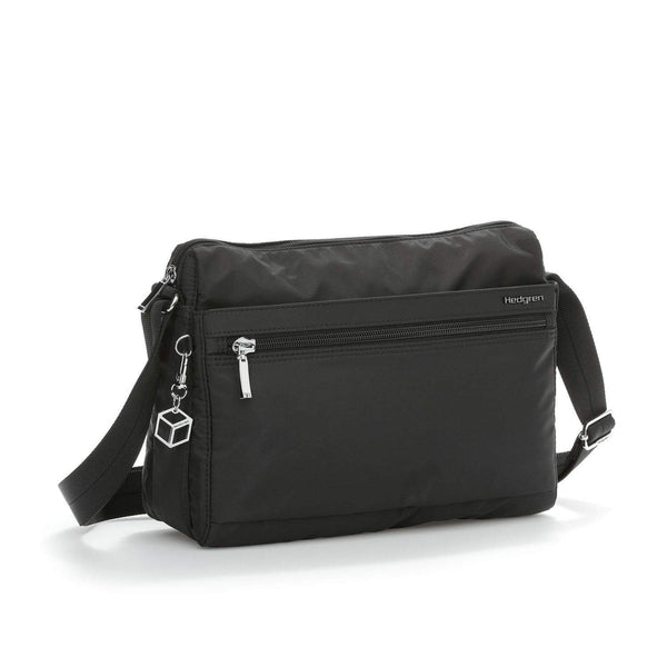Hedgren Eye RFID Medium Shoulder Bag - Black