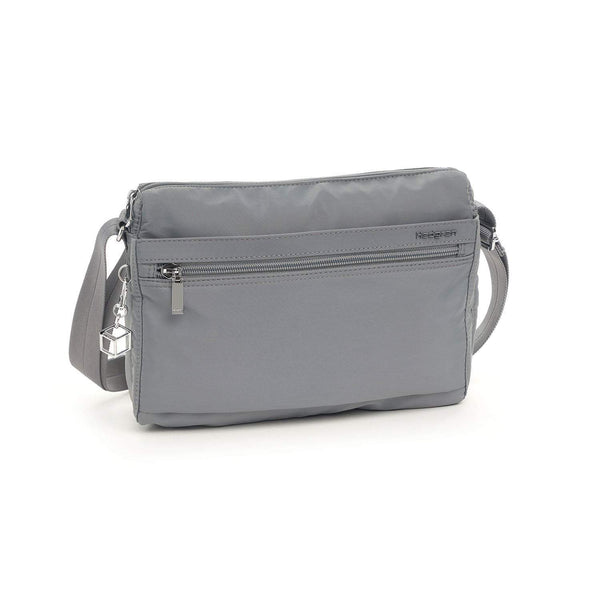 Hedgren Eye RFID Medium Shoulder Bag - Titanium