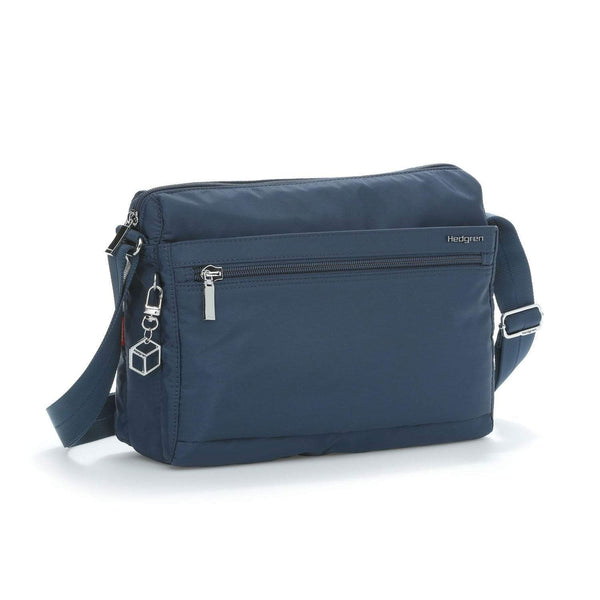 Hedgren Eye RFID Medium Shoulder Bag - Dress Blue