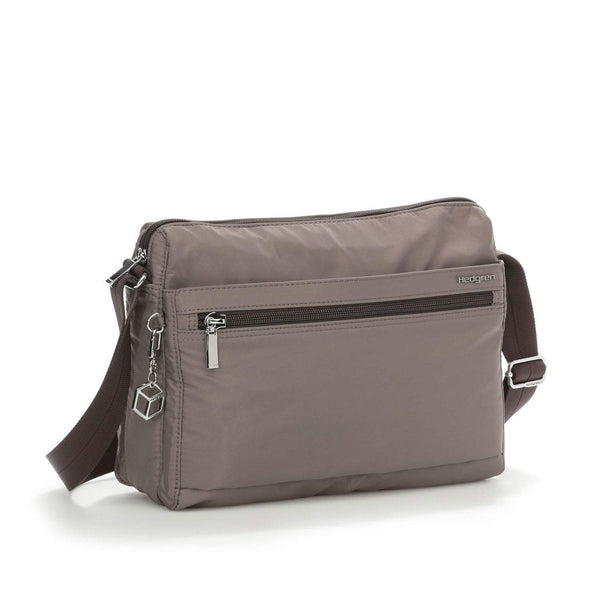 Hedgren Eye RFID Medium Shoulder Bag - Sepia/Brown