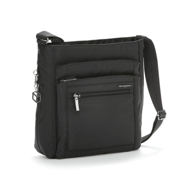 Hedgren Inner City Crossbody with RFID Blocking Pouch - Black