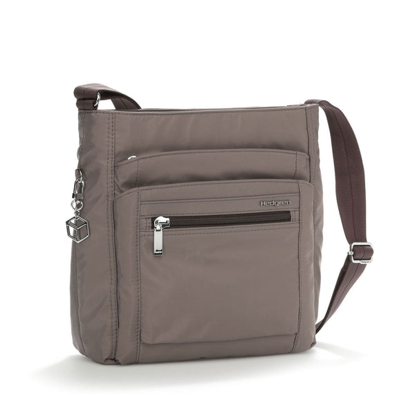 Hedgren Inner City Crossbody with RFID Blocking Pouch - Sepia/Brown