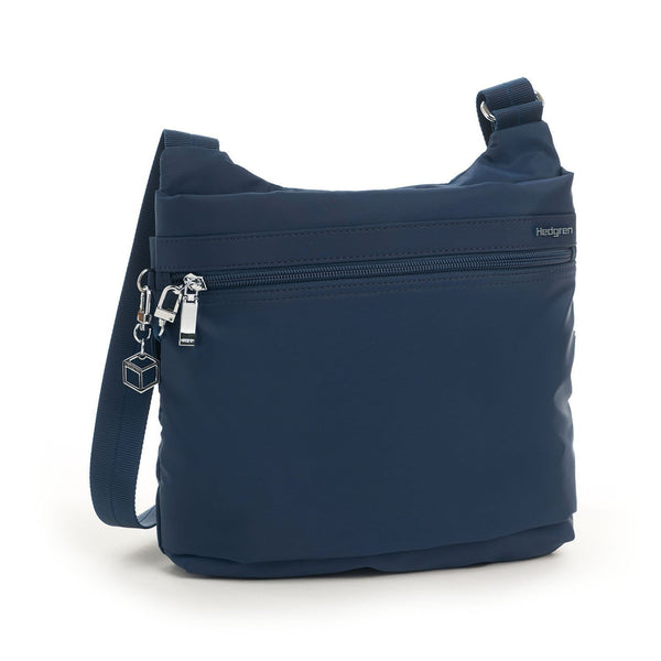Hedgren Faith RFID Crossbody with Safety Hook - Dress Blue