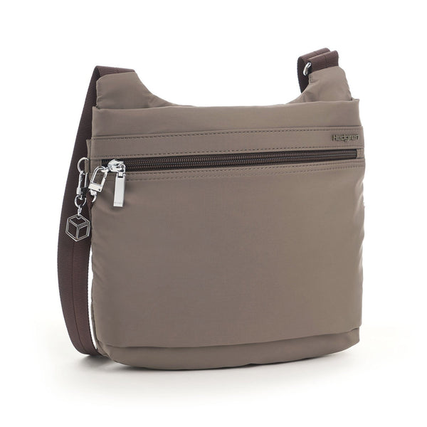 Hedgren Faith RFID Crossbody with Safety Hook - Sepia/Brown