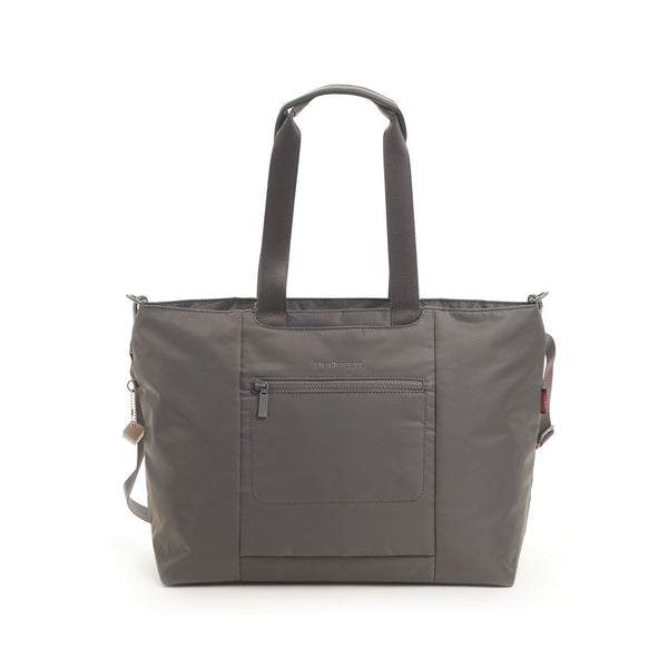 Hedgren Swing Large Tote with RFID Pocket - Tornado Grey