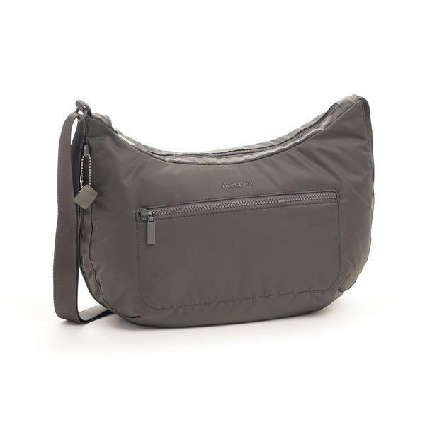 Hedgren Junket Large Crossbody with RFID Pocket - Tornado Grey