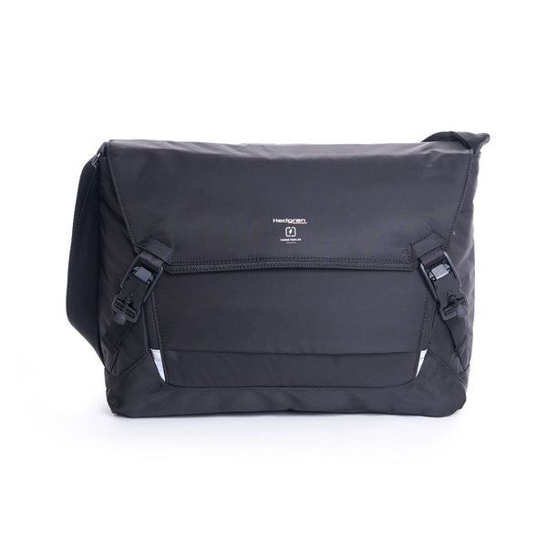 Hedgren Tie Messenger Bag 15 Inch - Black
