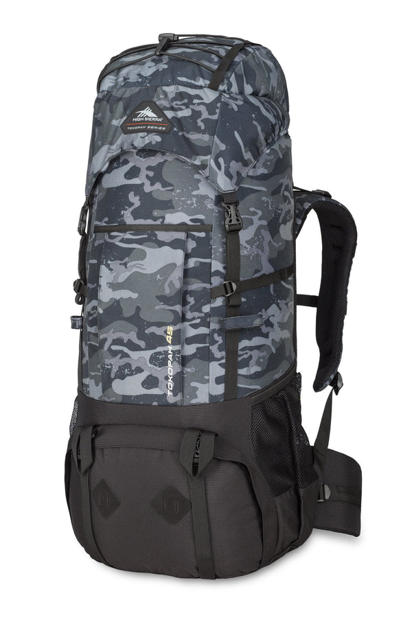 High Sierra Tokopah 45L Pack (Backpacking) - Camo/Black
