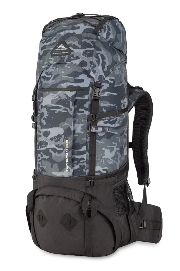 High Sierra Tokopah 55L Pack (Backpacking) - Camo/Black
