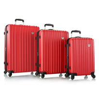 Leo by Heys HX7 3 Piece Hardside Lightweight Spinner Luggage Set
