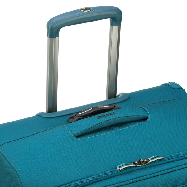 Delsey Hyperglide 19 Inch Expandable Carry-On Spinner Luggage