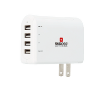 SKROSS US USB Charger – 4-Port