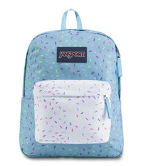 JanSport SuperBreak Backpack - Blue Topaz Sprinkle Me