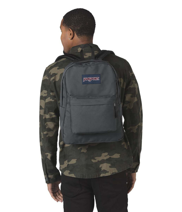 JanSport SuperBreak Backpack - Deep Grey