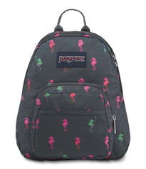 JanSport Half Pint Mini Backpack - Dark Slate Seahorse
