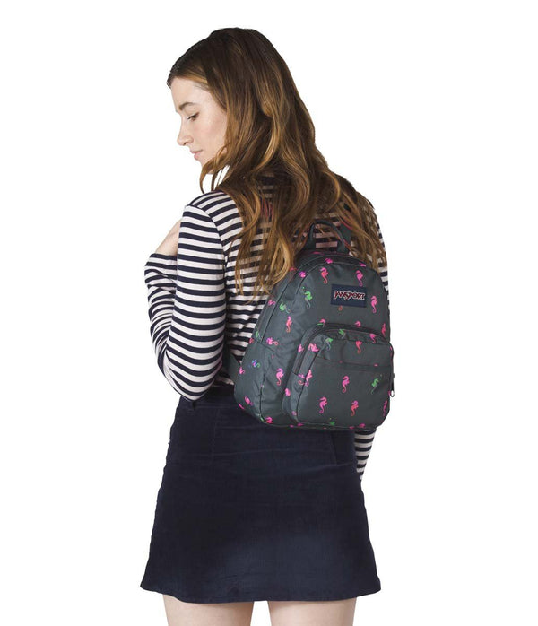 JanSport Half Pint Mini Backpack - Dark Slate Seahorse - Canada ... 7c2103d0fd