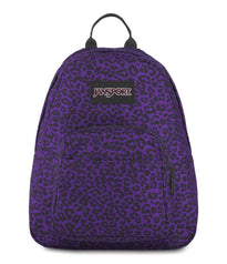 JanSport Half Pint Mini Backpack - Purple Leopard Life