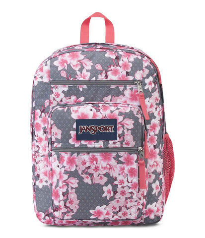 JanSport Big Student Backpack - Diamond Plumeria Pink