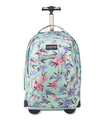 JanSport Driver 8 Wheeled Backpack - Vintage Irises