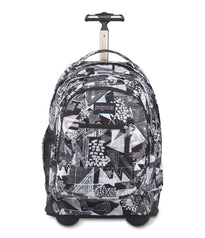 JanSport Driver 8 Wheeled Backpack - Black Street Lines