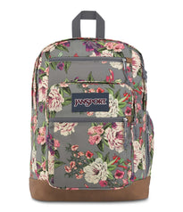 JanSport Cool Student Backpack - Grey Bouquet