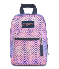 JanSport Big Break Lunch Bag – Chevron Fade