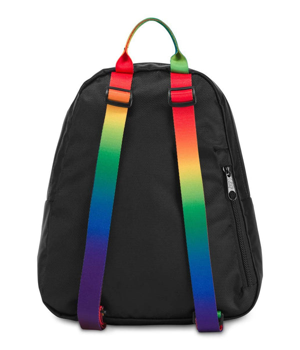 JanSport Half Pint 2 FX Mini Backpack - Rainbow Webbing