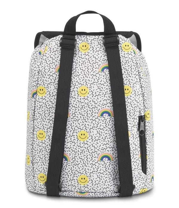 JanSport Hartwell Backpack - Smiles and Rainbows
