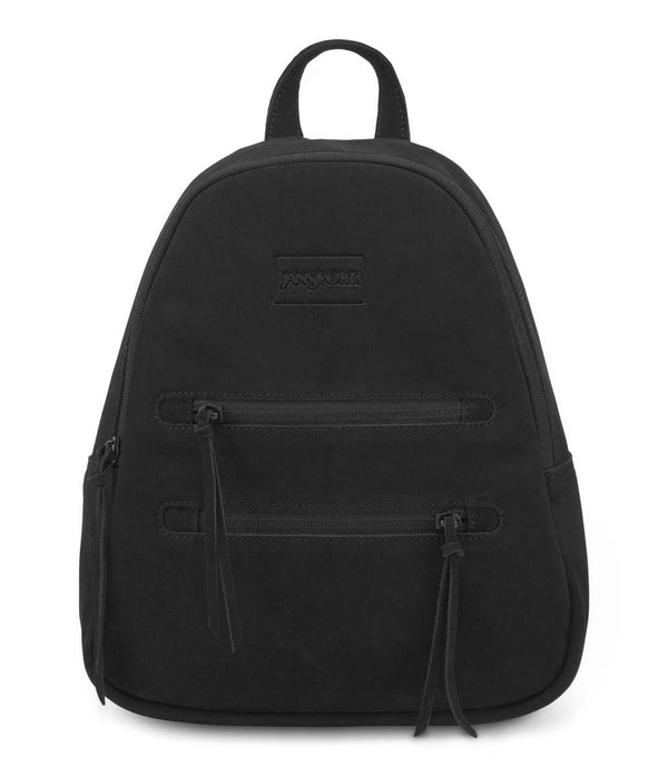 da7170743 JanSport Half Pint Leather Mini Backpack - Black By Jansport $99.95 You  Save: ( )