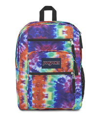 JanSport Big Student Backpack - Red/Multi Hippie Days