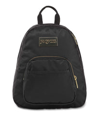 JanSport Half Pint Luxe Mini Backpack - Black