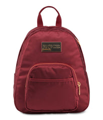 JanSport Half Pint Luxe Mini Backpack - Bright Cherry